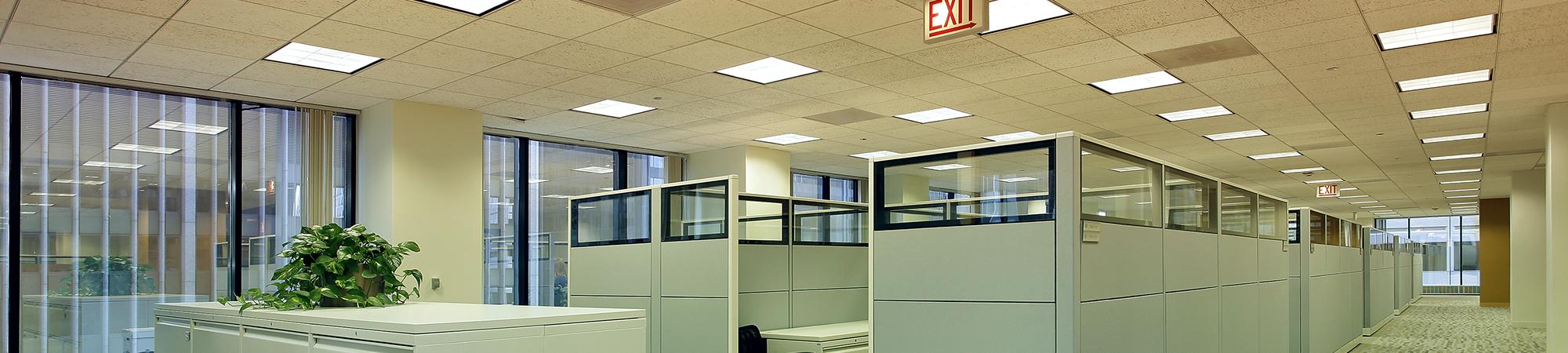 LED Belechtung für Büro